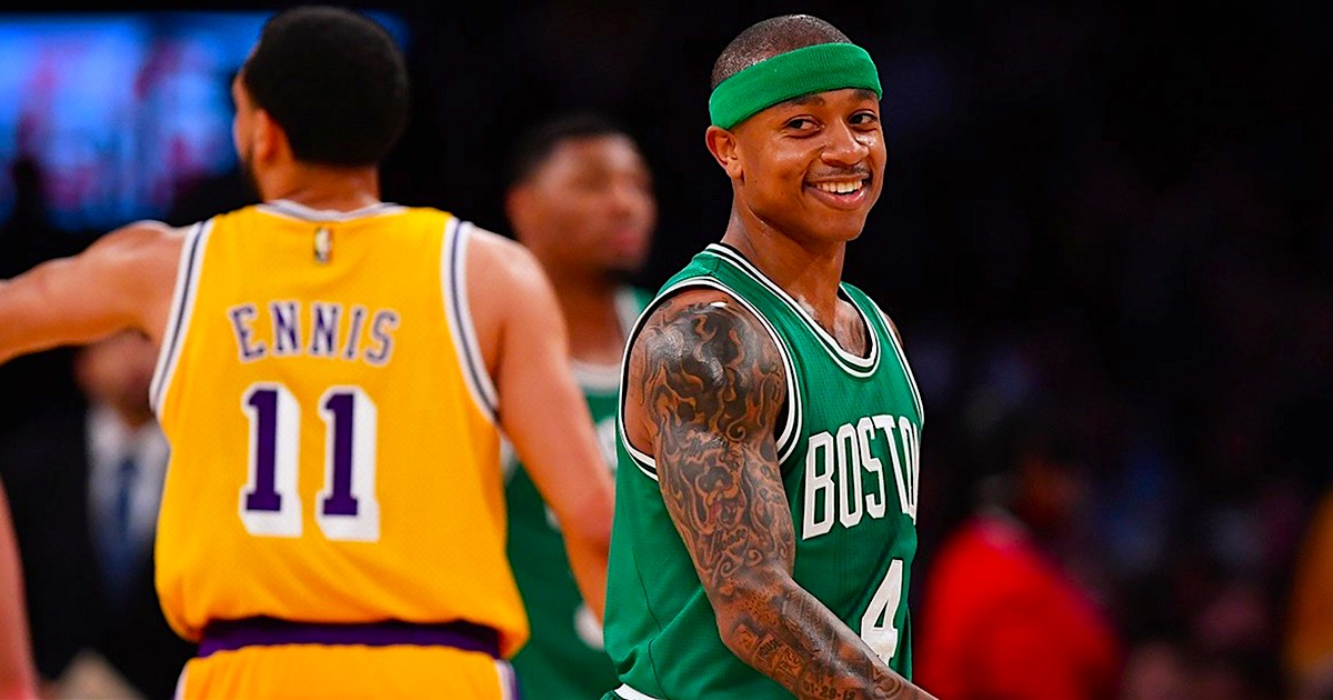 2902fa2a101 Isaiah Thomas spotted playing Xbox and beating the Celtics as the Cavs